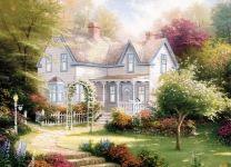 Фотообои-картина Дом мечты