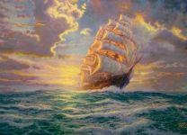 Фотообои-картина Корабль