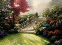 Фотообои-картина Королевский сад