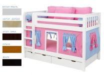 Детская двухъярусная кровать Мальвина