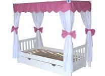 Кровать Принцесса Росинка с балдахином