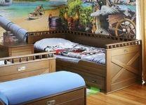 Кровать-диван Морской стиль