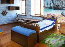 Кровать классическая Морской стиль