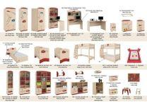 Кровать Формула Меблик 190х90, 190х120, 160х80