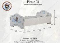 Кровать Pirate-02