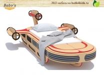 ЭКО кровать ракета Landspeeder Baby's Garage из Звёздных Войн