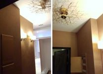 Ремонт коридора с эффектным оформлением стен