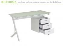 Компьютерный стол Rifforma CT-3365DG с тумбой