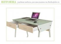 Стол-тумба для школьника Rifforma CT-3311G с ящиками