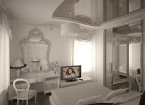 Дизайн: Спальня с перегородкой
