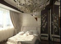 Дизайн: Спальня с узорами