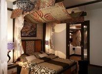 Дизайн: Спальня в африканском стиле