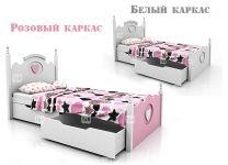 Детская кровать Mary с двумя ящиками