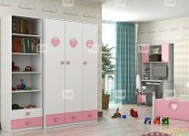 Детский шкаф трёхдверный с ящиками Mary