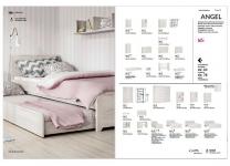 Кровать двуспальная ANGEL WOJCIK в стиле лофт