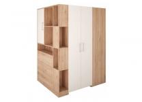 Шкаф-гардероб угловой 3-дверный BOX Wojcik
